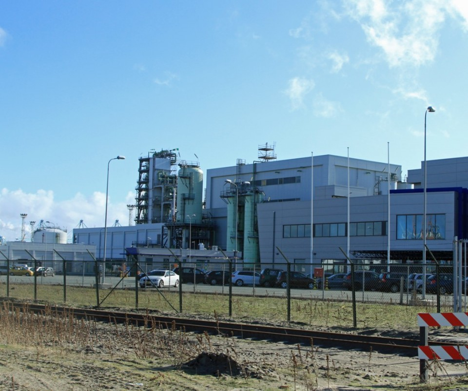 Construction of new LNG / Nesté Oil terminal